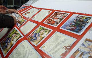 Das Buch «Samichlaus der alte Mann» des Schweizer Kinderbuchautors Sämi Weber wird bei der Druckerei Uhl in Radolfzell gedruckt.