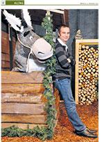 Porträt über den Schweizer Kinderbuchautor Sämi Weber im Tagblatt der Stadt Zürich vom 1. Dezember 2010.