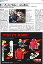 Porträt des Tages Anzeigers über den Schweizer Kinderbuchautor Sämi Weber vom 4. Dezember 2009.