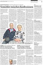 Die Zürichsee Zeitung hat in ihrer Ausgabe vom 14. Novmeber 2009 über den Schweizer Kinderbuchautor Sämi Weber berichtet.