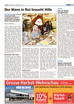 Artikel aus dem Zürcher Oberländer vom 13. November 2014.